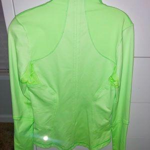 Neon Green Lululemon Jacket